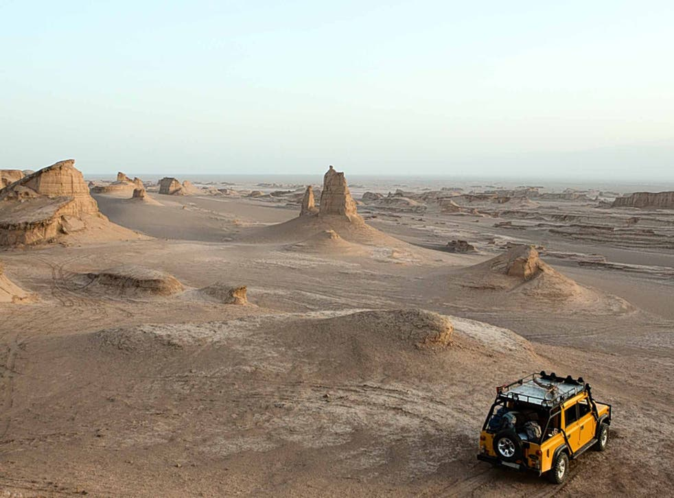 Sense of adventure: try stepping out of your comfort zone into the Iranian desert