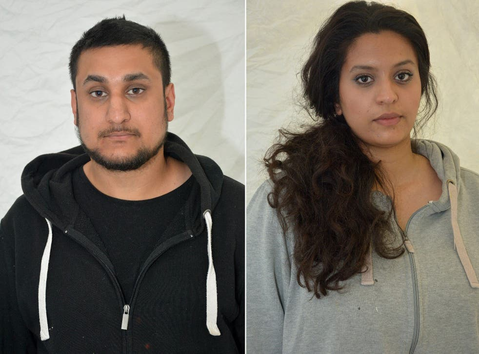 Mohammed Rehman and Sana Ahmed Khan, who were convicted at the Old Bailey on December 29, 2015