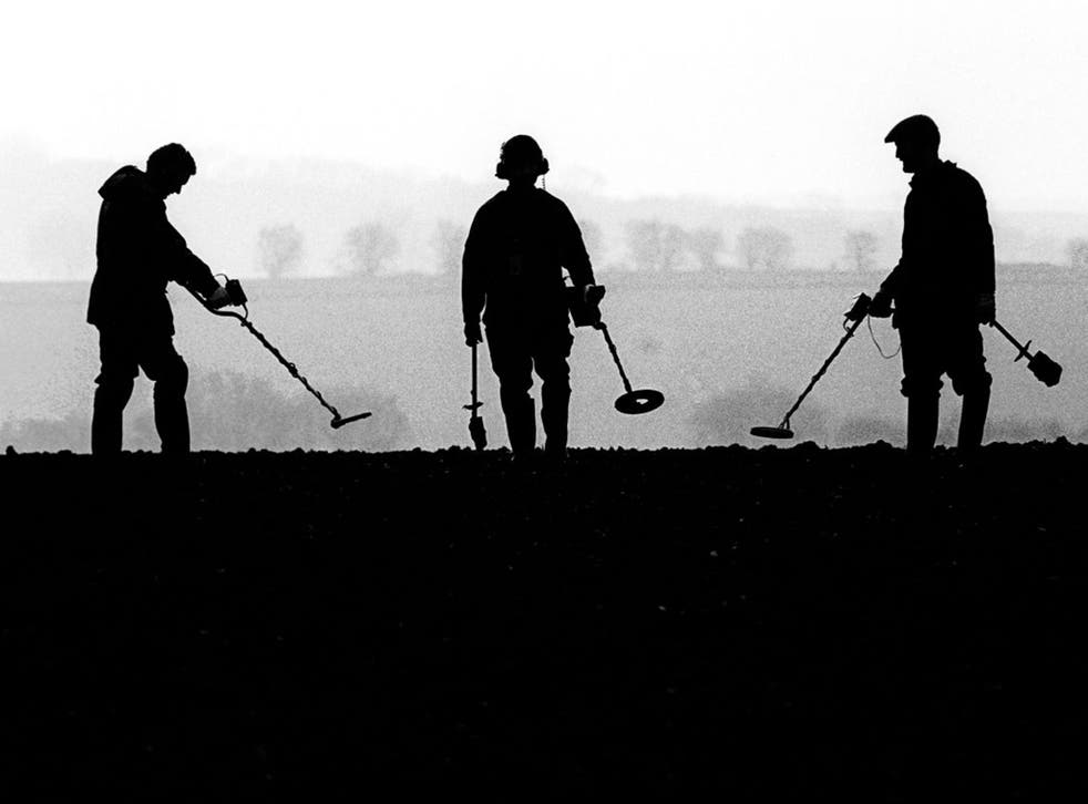Law-abiding metal detectorists often spot nighthawkers and their wares when they are put up for sale