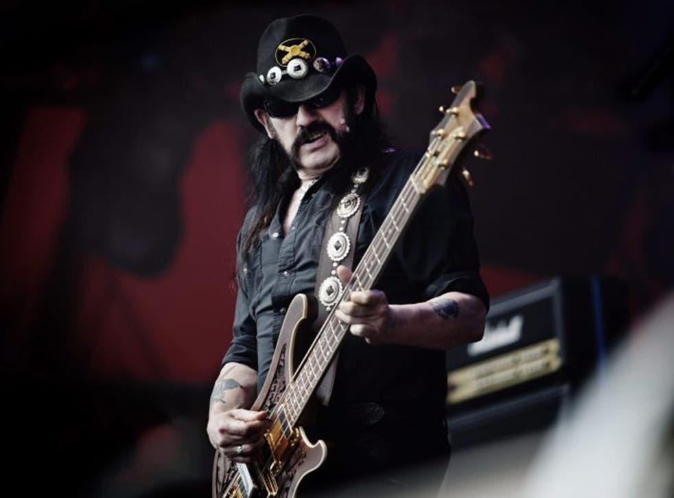 Motörhead frontman Lemmy was the rock star's rock star