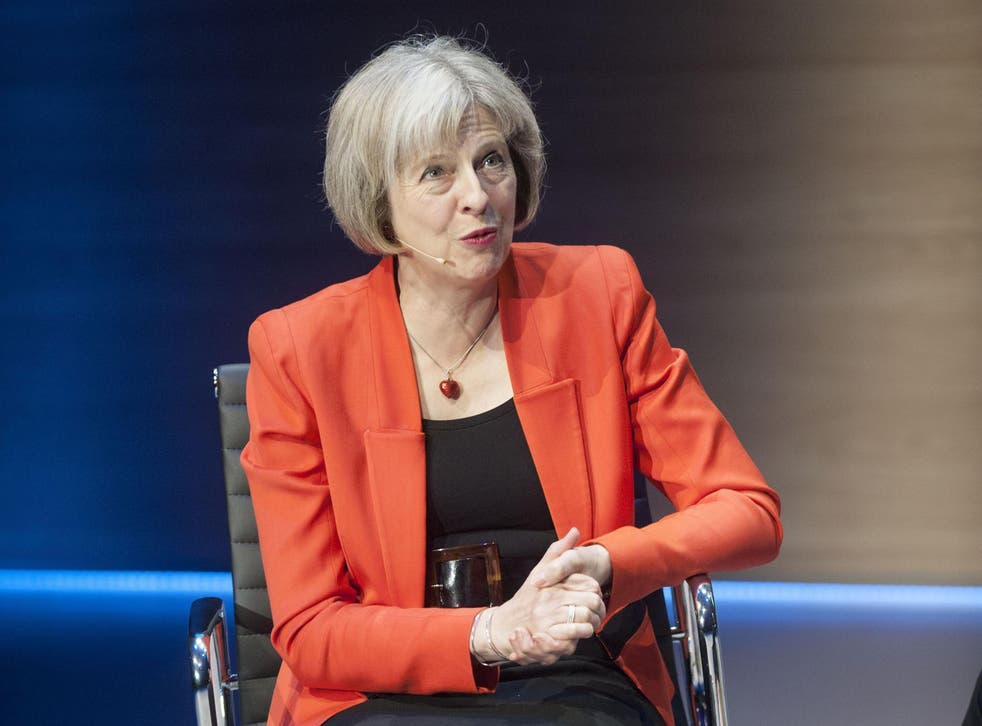 Theresa May is rumoured to be considering leading the Out campaign in the EU referendum