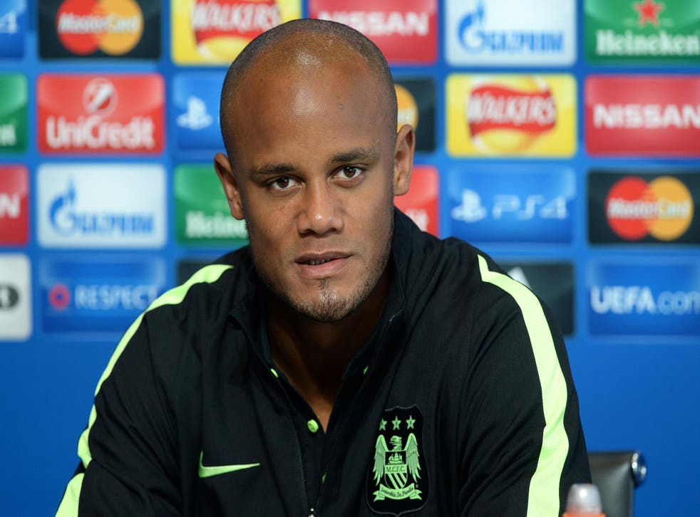 Vincent Kompany grew up near to the Molenbeek district of Brussels