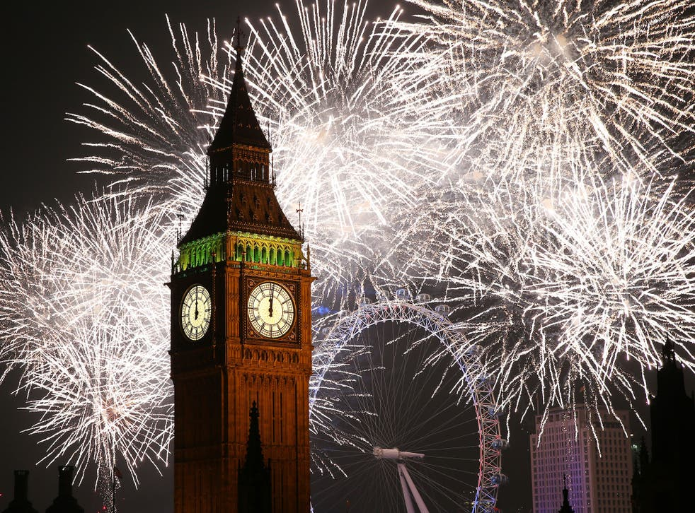 Thousands of people will watch the Mayor's firework display by Big Ben, with tickets having sold out