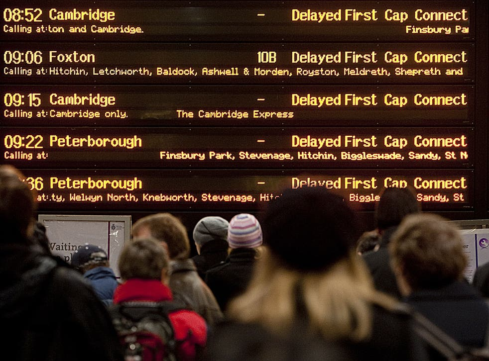 Commuters have expressed their frustration at delays in London