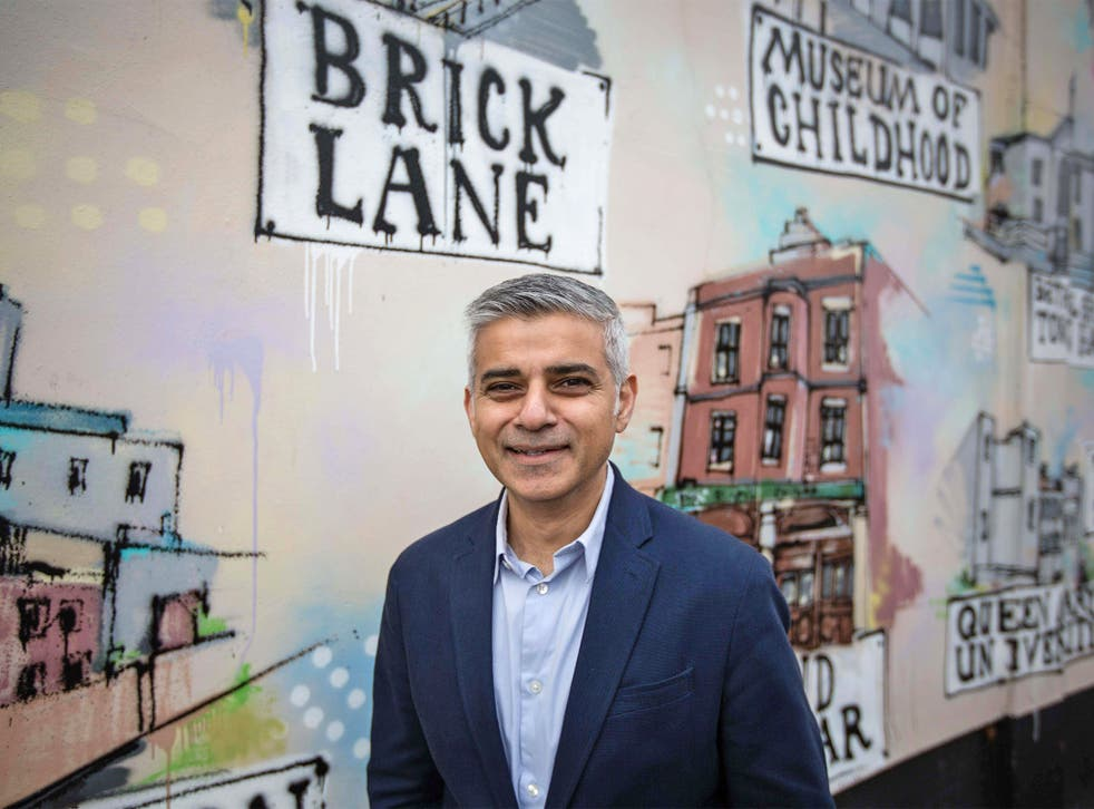 Sadiq Khan says he will have a '32-borough strategy' in his mayoral election campaign