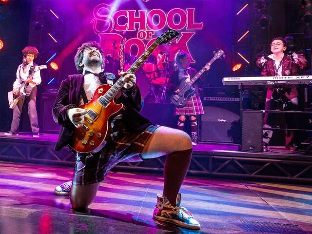 Guitar hero: 'The School of Rock' with Alex Brightman