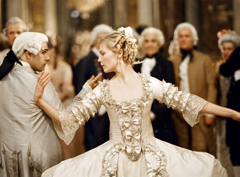 Kirsten Dunst as Marie- Antoinette and Jason Schwartzman as Louis XVI in the 2006 film interpretation of the queen's life