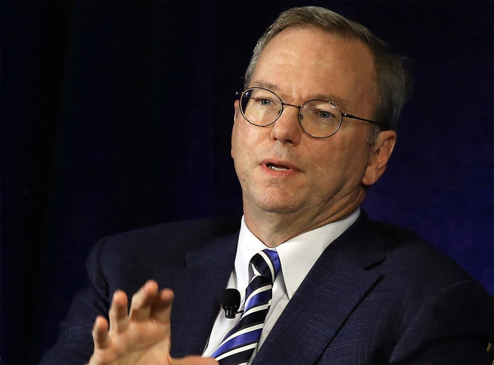 Eric Schmidt: 'You've got the right role within the Continent'