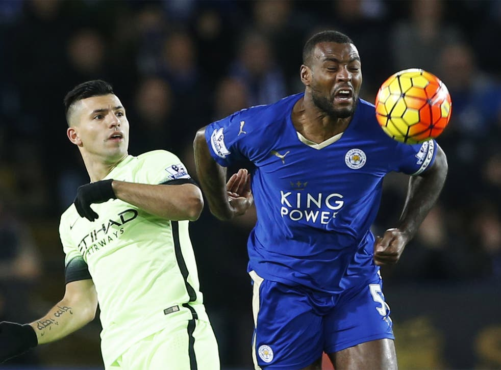 Wes Morgan hailed the 0-0 draw against Manchester City on Tuesday as a great result