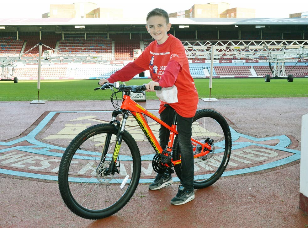 The 13-year-old schoolboy raised over £230,000 for charity