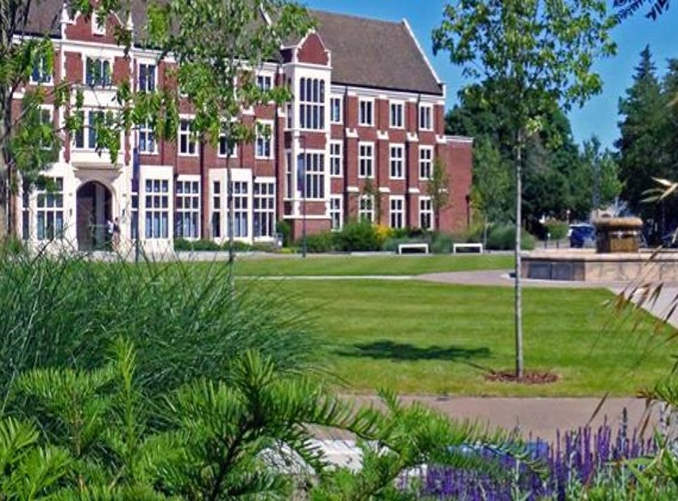 VC of Loughborough, pictured, says institution's 'long-term trajectory is firmly upwards'