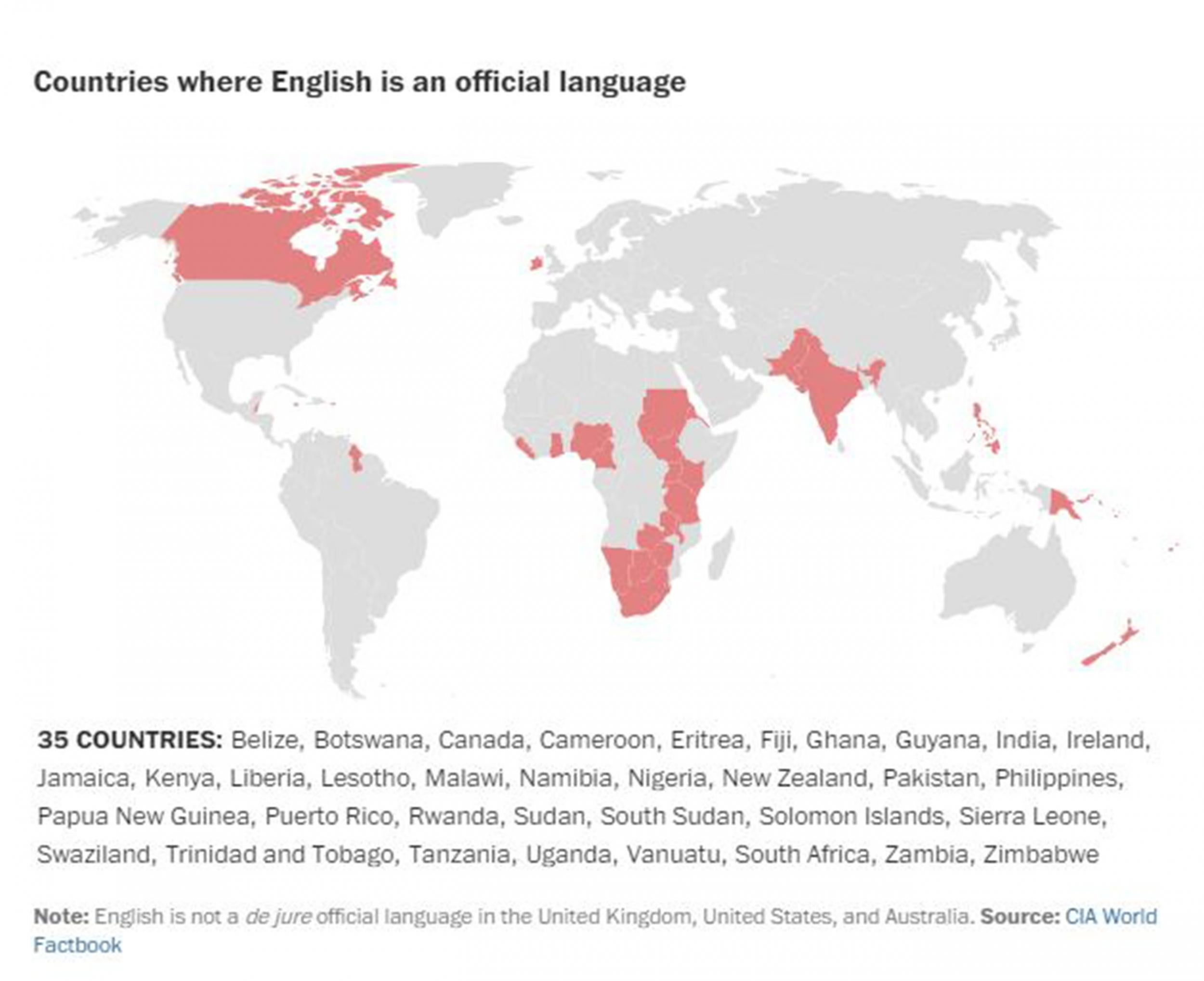 The world\'s languages, in seven maps and charts | The Independent