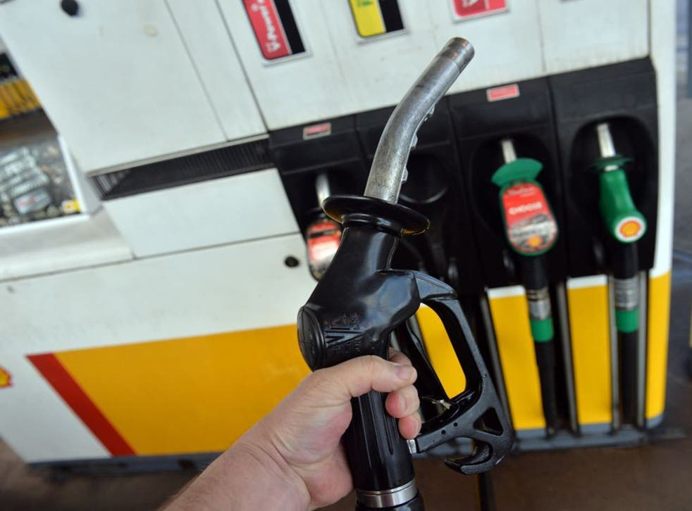 Fuel duty in the UK stands at 57.95p a litre
