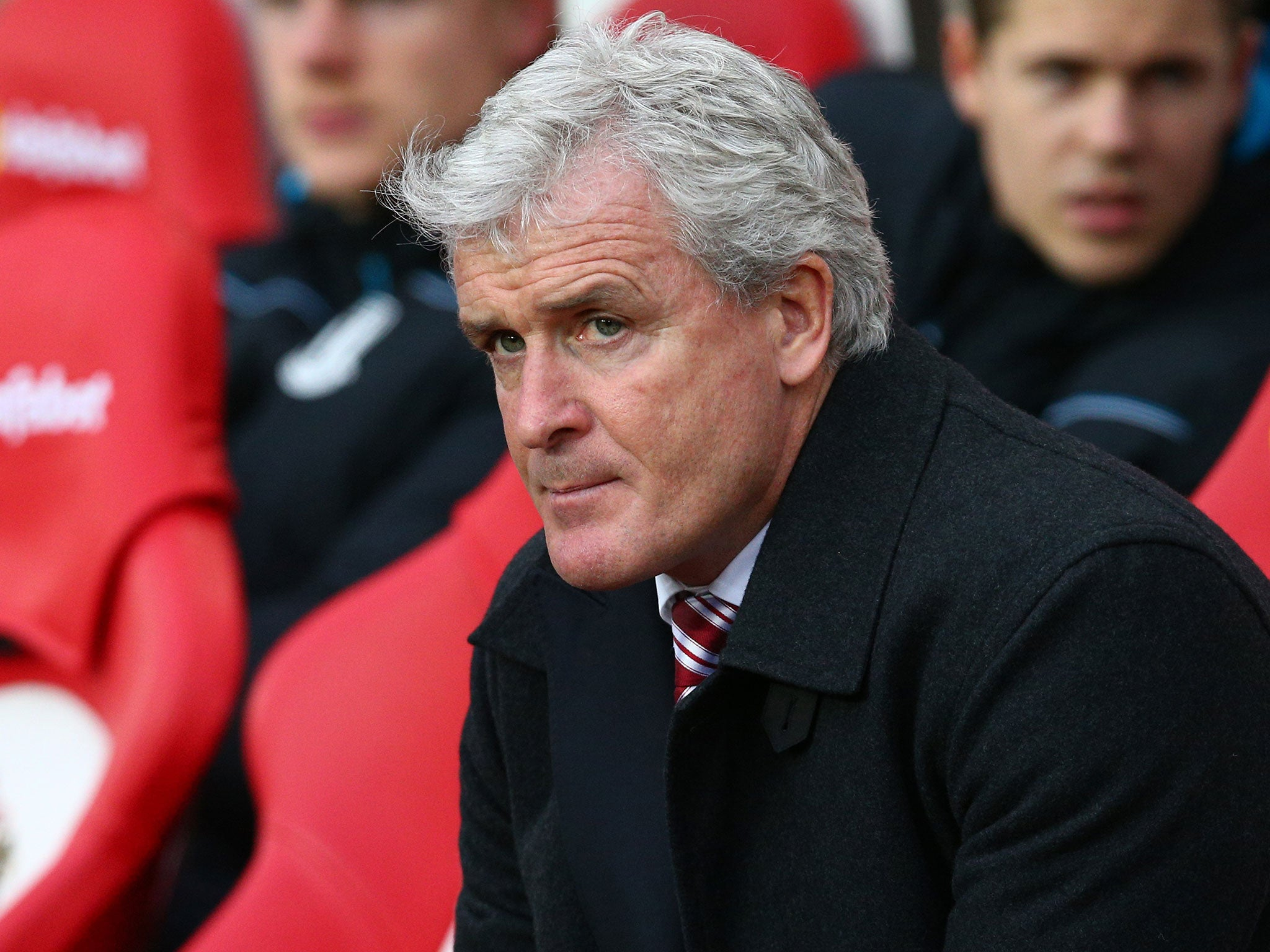 Mark Hughes has studied the shortcomings in his Stoke squad to make best use of resources - Danny Higginbotham