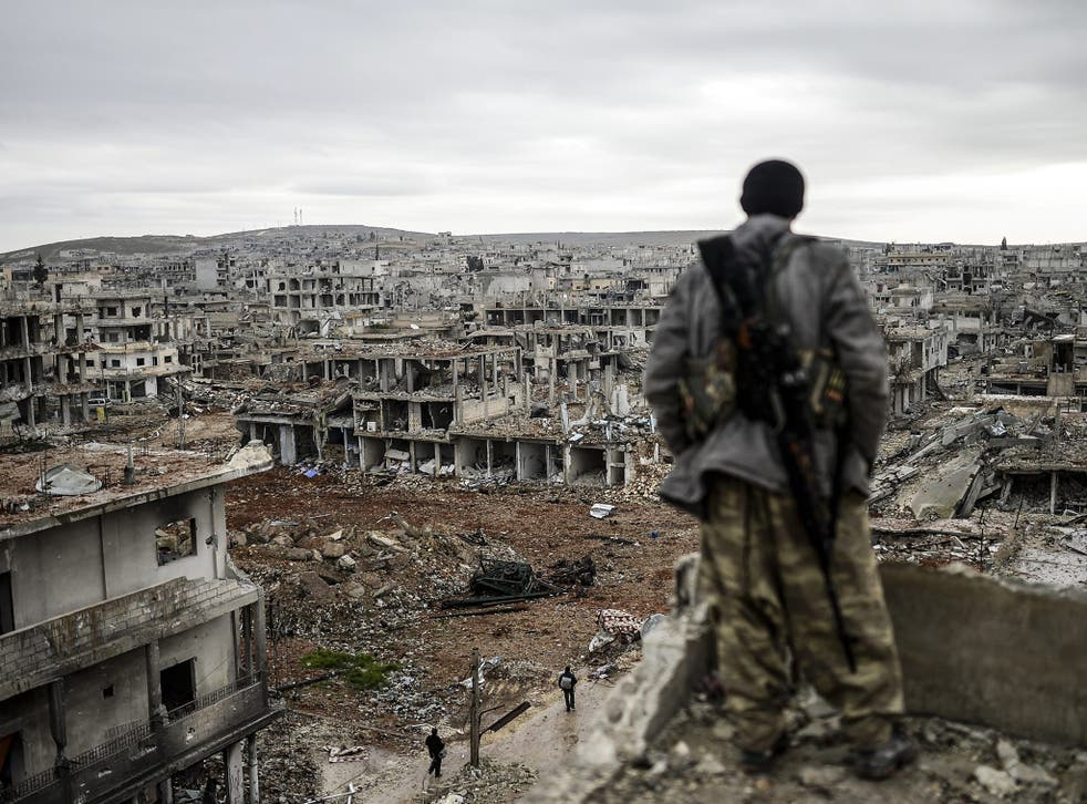 The destruction of cities such as Kobane in Syria and elsewhere, by opposing forces has made travel around  the region almost impossible