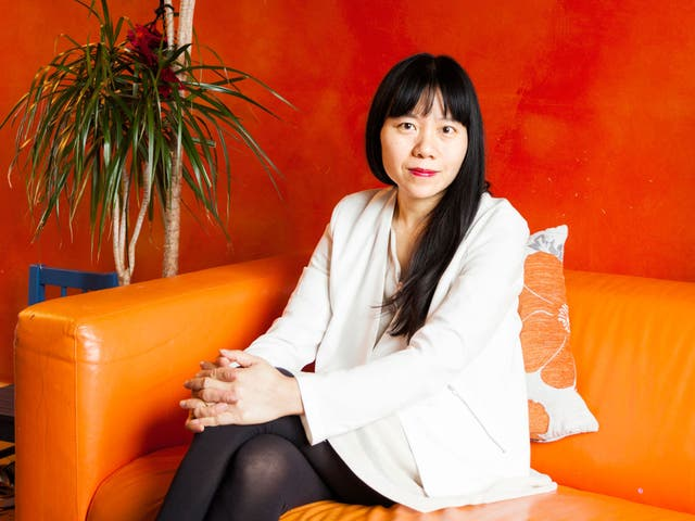 Novelist and film-maker Xiaolu Guo came to London on a scholarship to the UK's national film school and has settled in east London with her partner and child