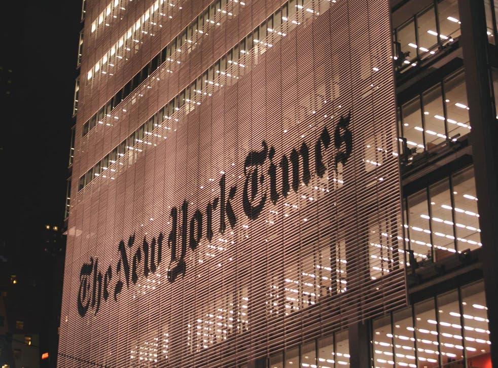 The New York Times, New York, USA