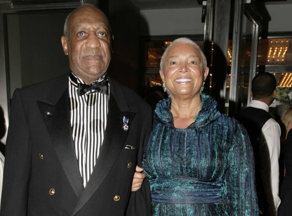 Bill and Camille Cosby in 2009