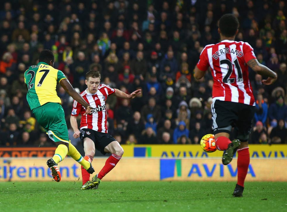 Alex Tettey fires home the only goal of the game