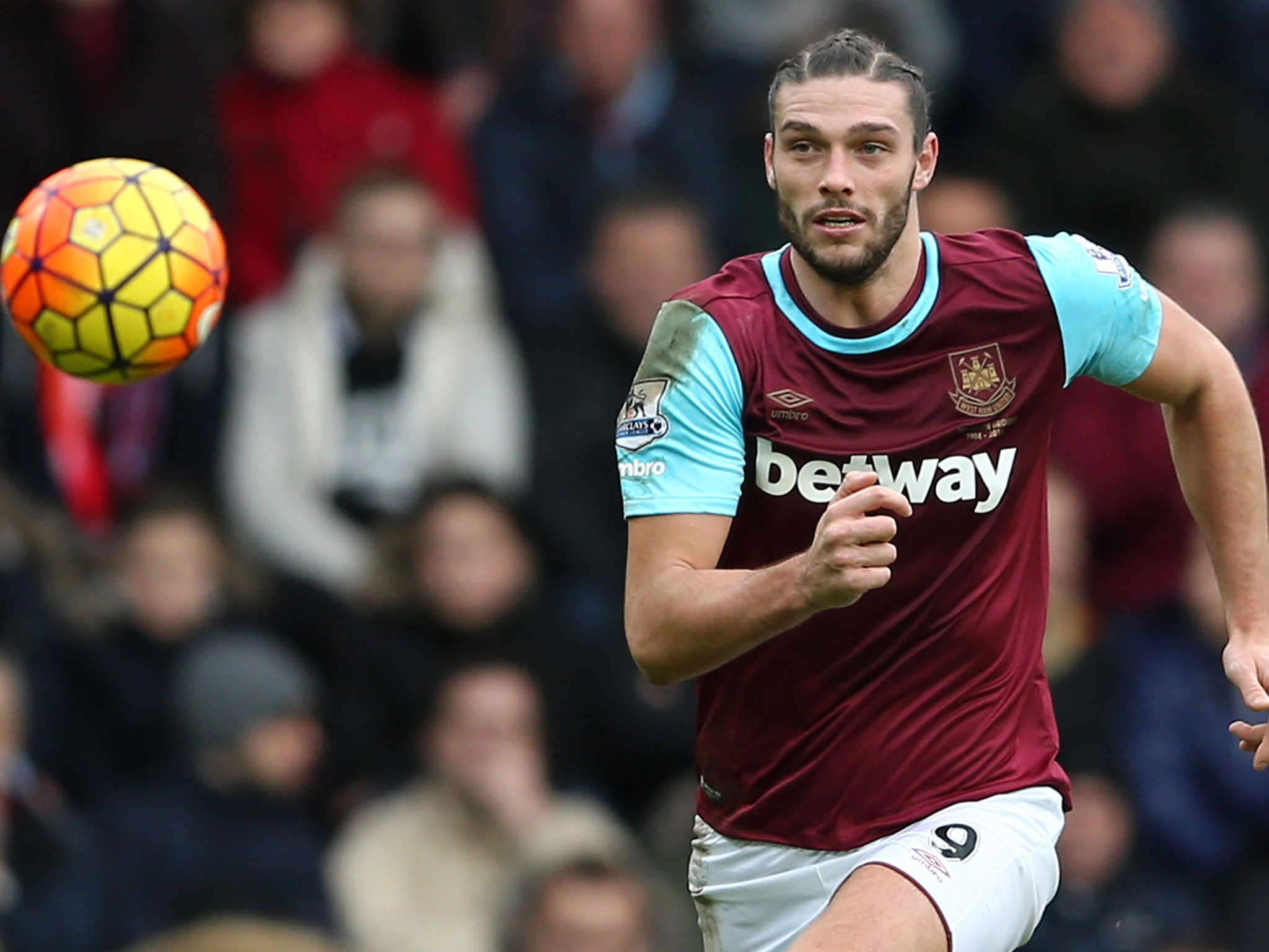Andy Carroll fitness West Ham striker told to ignore Euro 2016