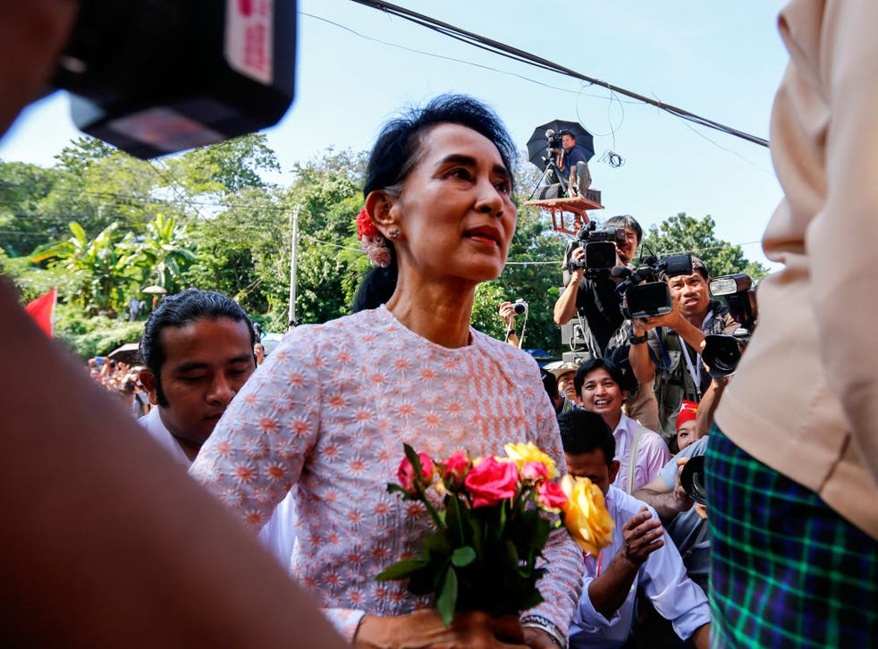 The life of Aung San Suu Kyi, who successfully confronted dictatorship, is too sensitive for publication in China
