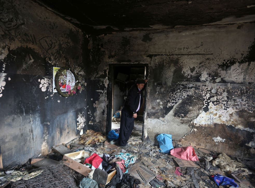 Saad and Riham Dawabsha and their son Ali were killed when their house was firebombed in July 2015