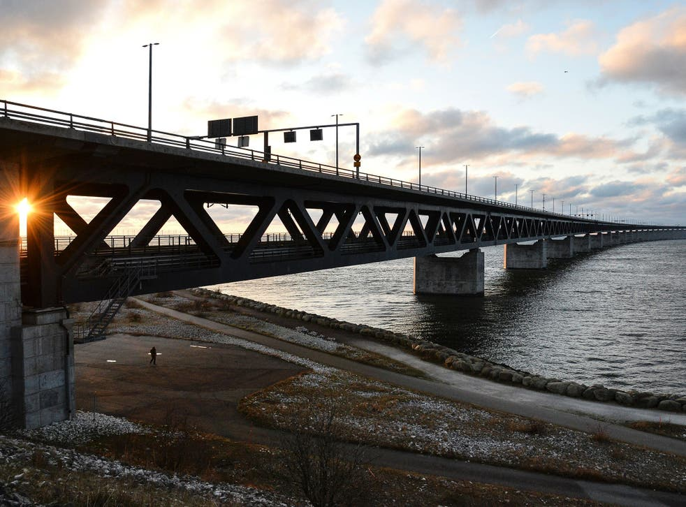 The Oresund Bridge between Sweden and Copenhagen which has provided easy travel between the two countries since the 1950s