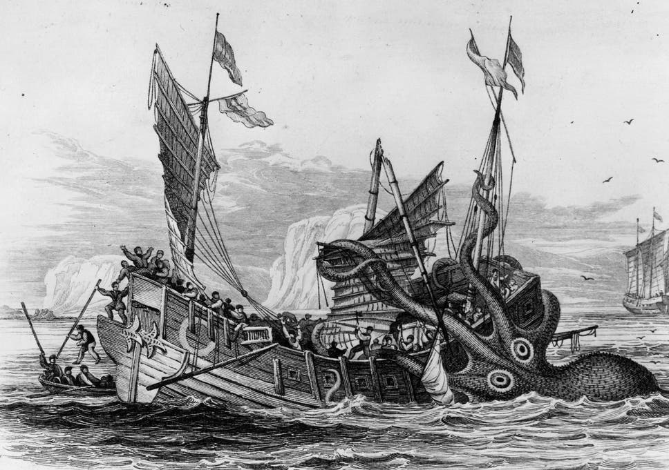 The history of the Kraken goes back to an account written in 1180