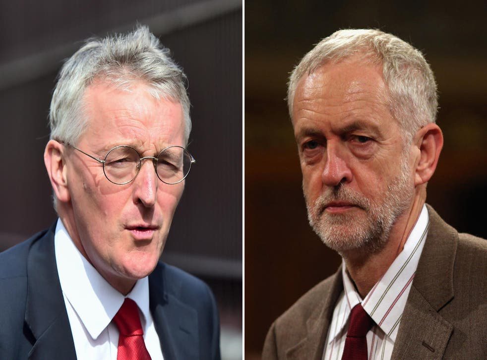 Hilary Benn is expected to be demoted or sacked from the Shadow Cabinet after he defied Jeremy Corbyn over the Syria vote