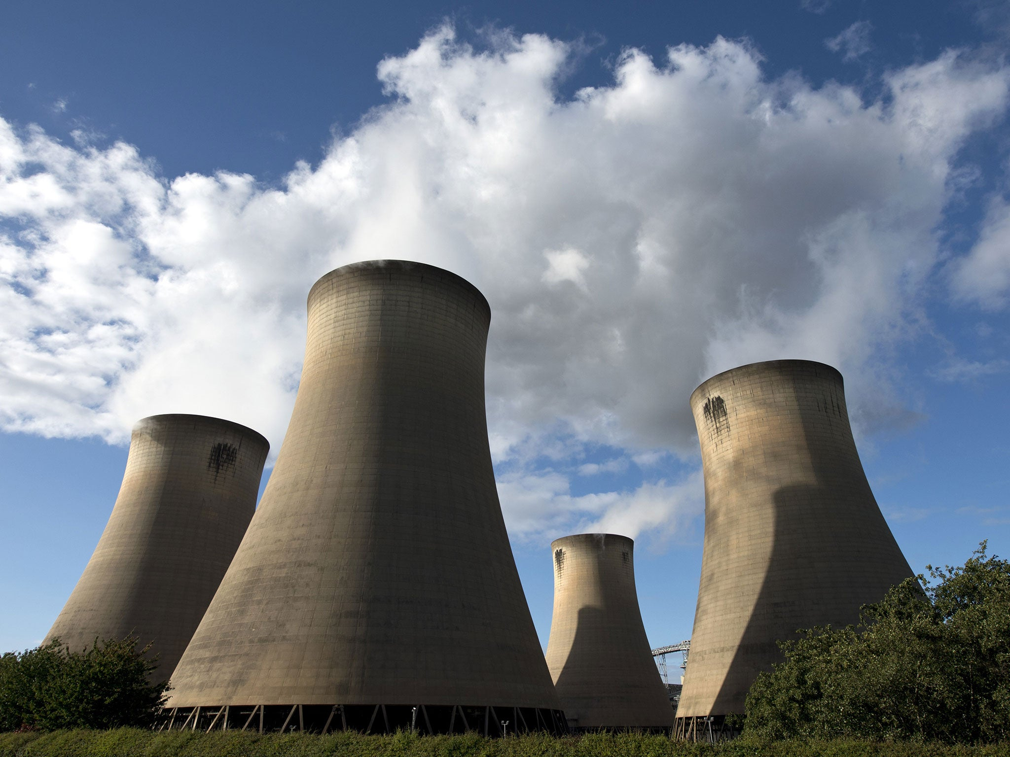 Green energy How one power plant chips away at the UK s carbon