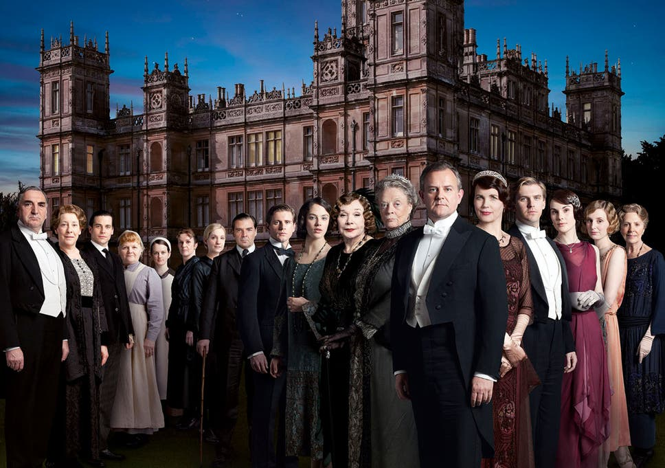Downton abbey popularity