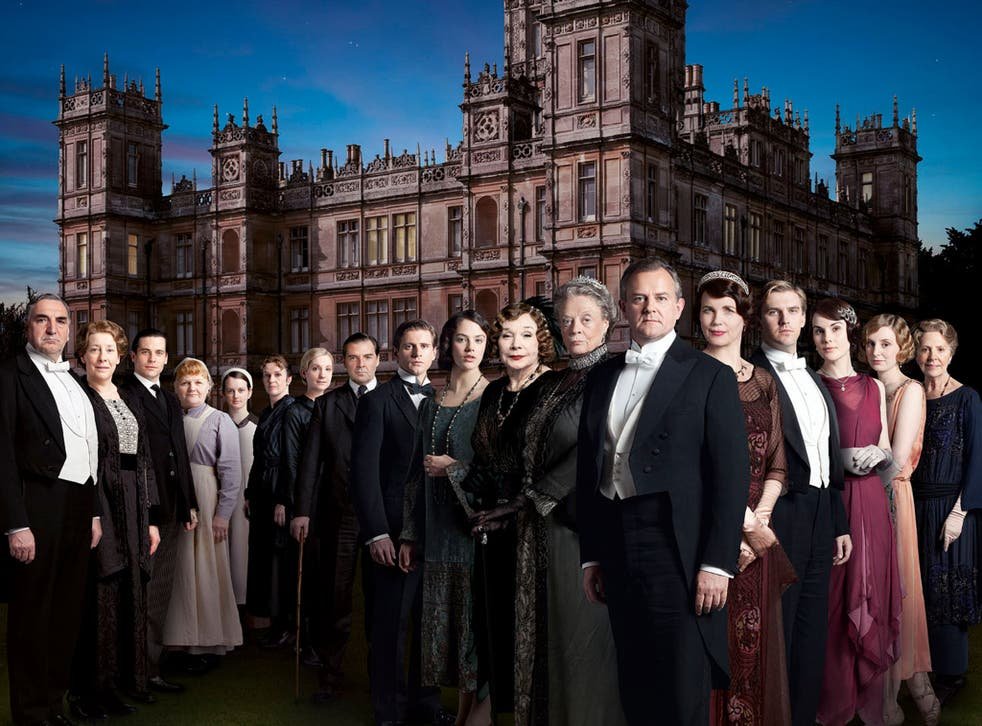 The cast of Downton 'reflect the ethnic mix of the period'