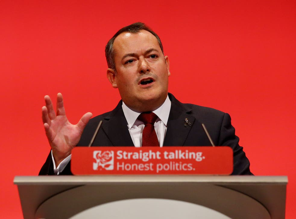Dugher was let go from Corbyn's cabinet this morning