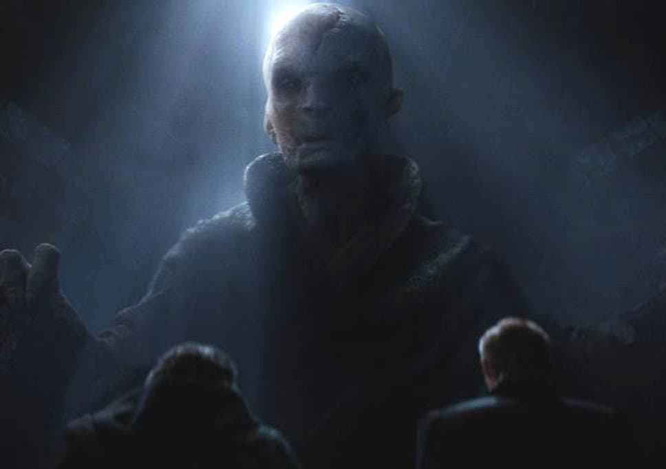 d93740b2f Star Wars The Force Awakens: Supreme Leader Snoke was inspired by Abraham  Lincoln.