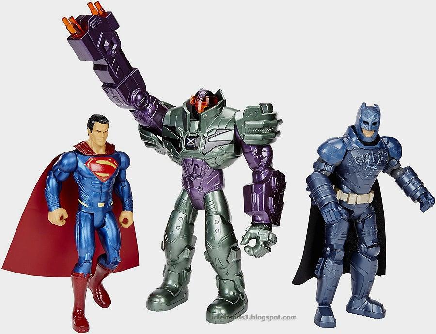 Batman Vs Superman Dawn Of Justice Toy Set Reveals More Potential