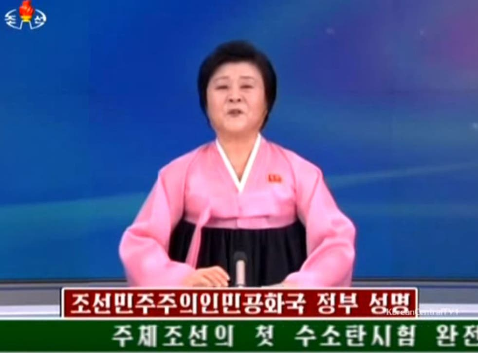 North Korean state broadcaster KCTV announced the news to its citizens