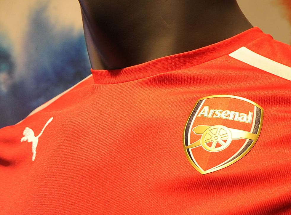 The current Arsenal shirt has been warmly received by fans