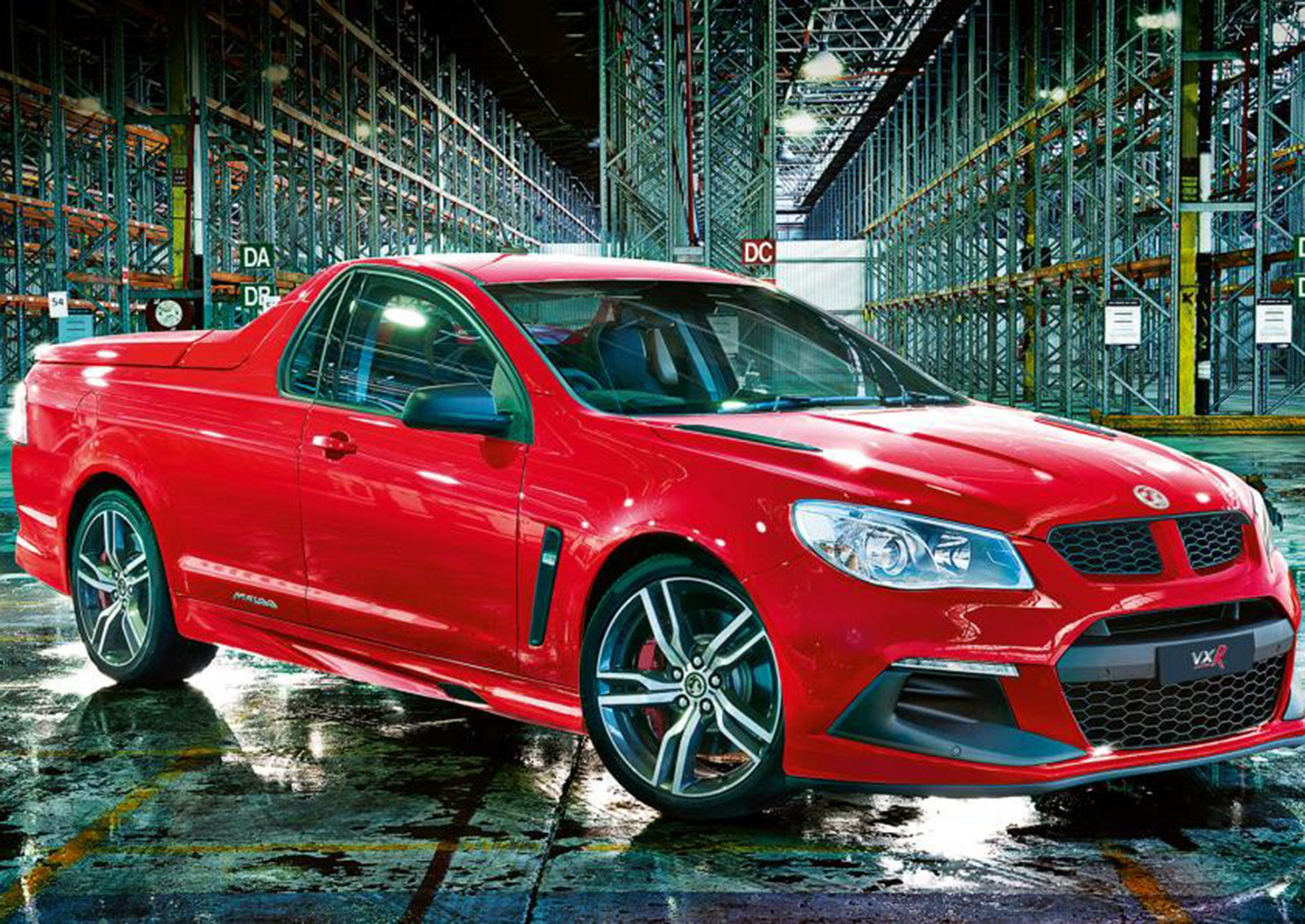 vauxhall maloo 529bhp pick up gives new meaning to u0027monster truck