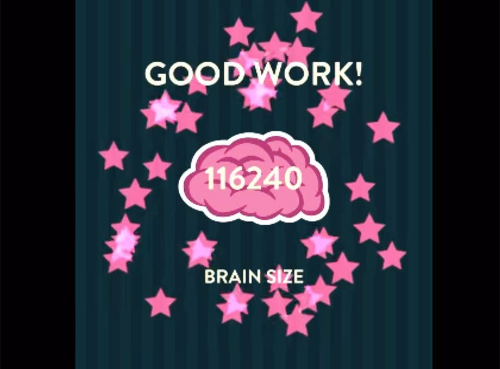 There's nothing to suggest that increasing your 'brain size' with the Wordbrain app will actually make you smarter