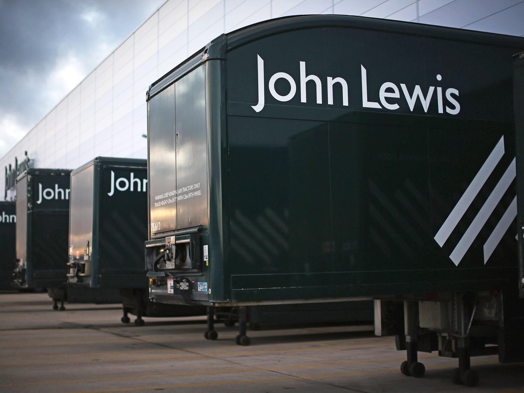 Huge increase in online shoppers lifts john lewis the