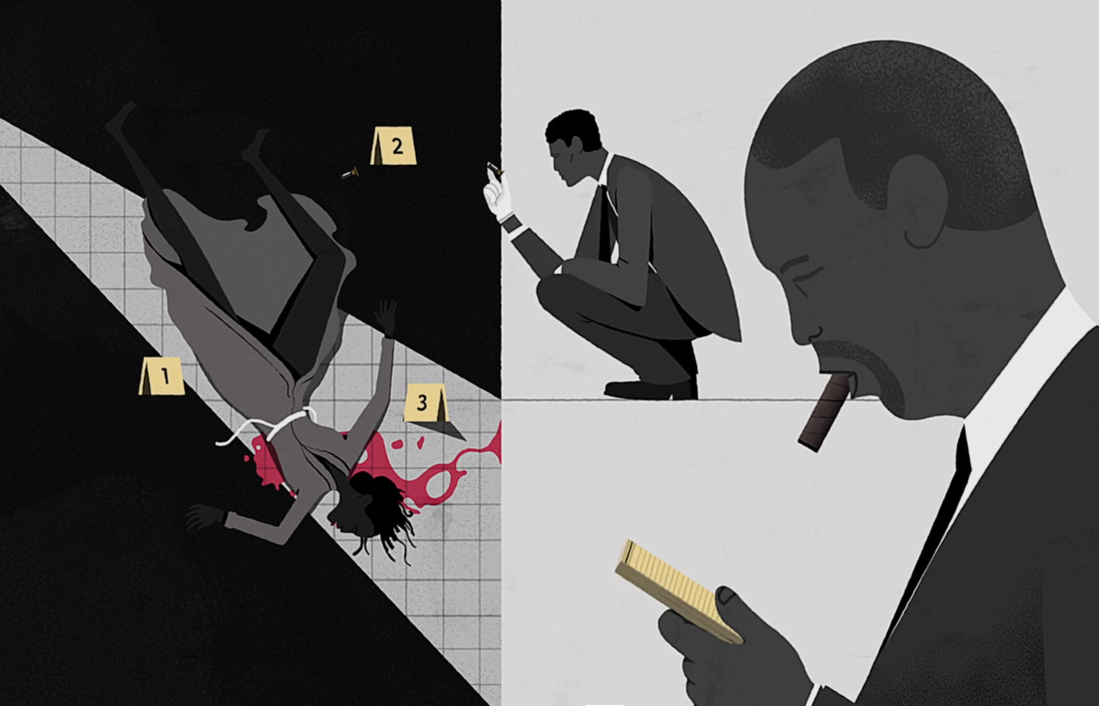 The Wire: animated version of opening titles is perfectly executed ...