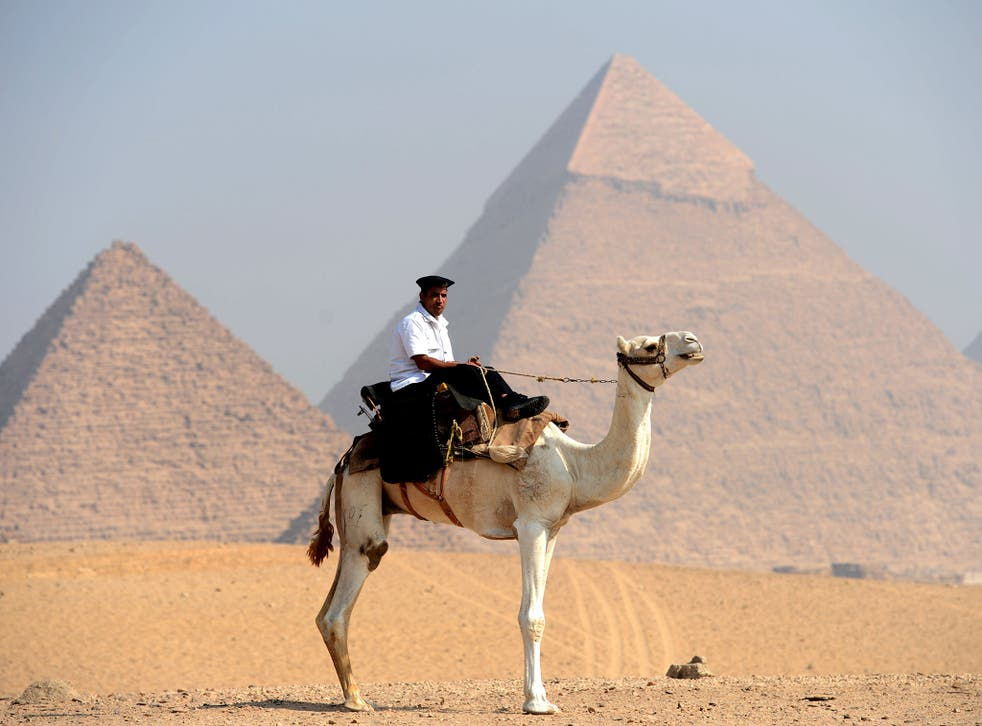 Several police officers have been murdered near Giza in the past year