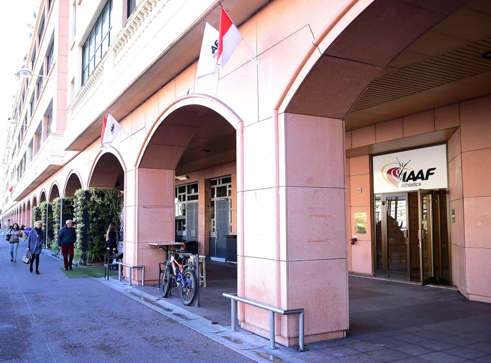 The IAAF's headquarters in Monaco