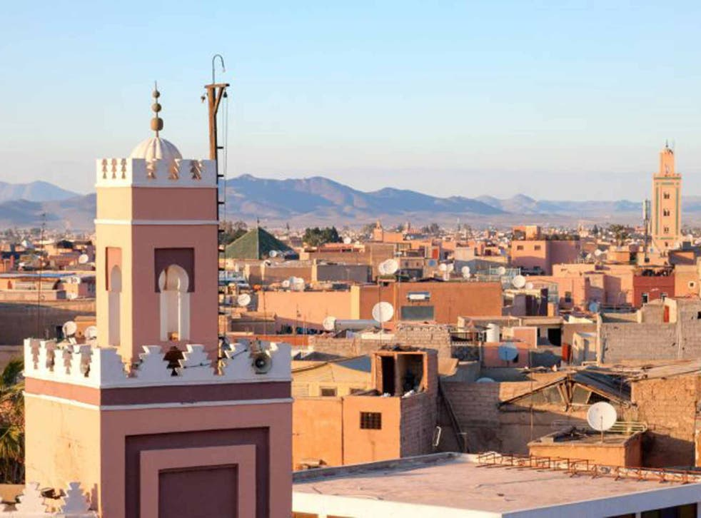 In the pink: Marrakech's rosetinted rooftops
