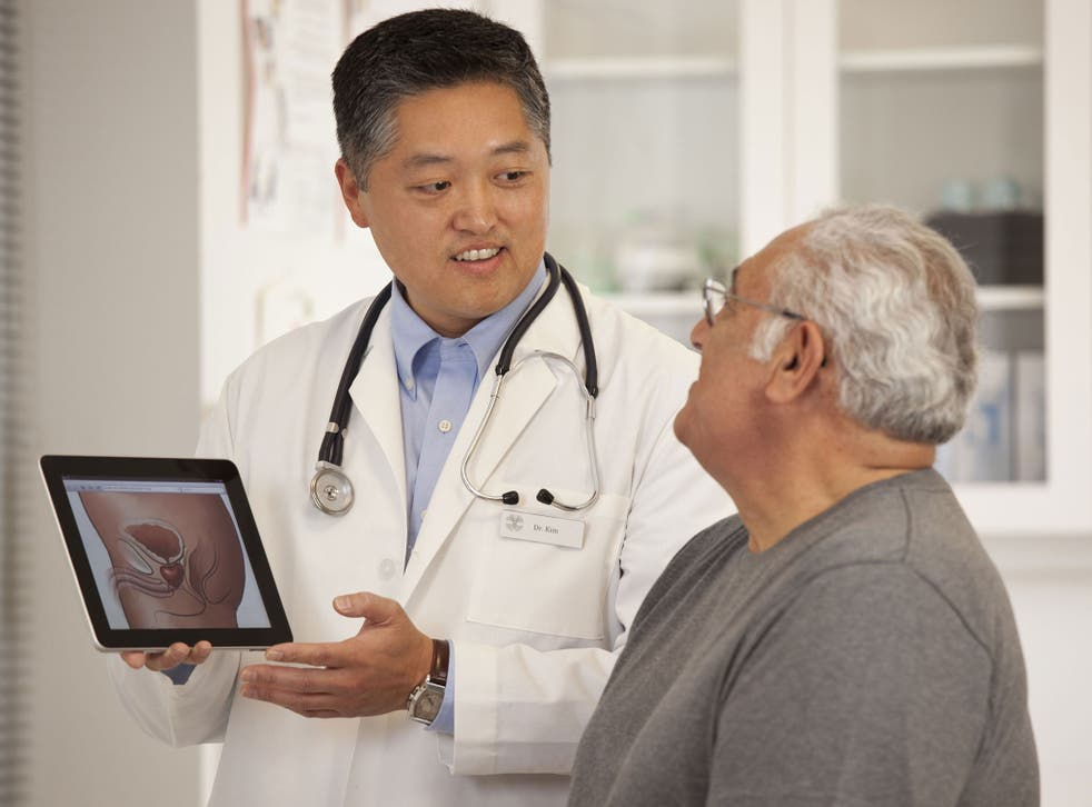 treatment enlarged prostate nhs