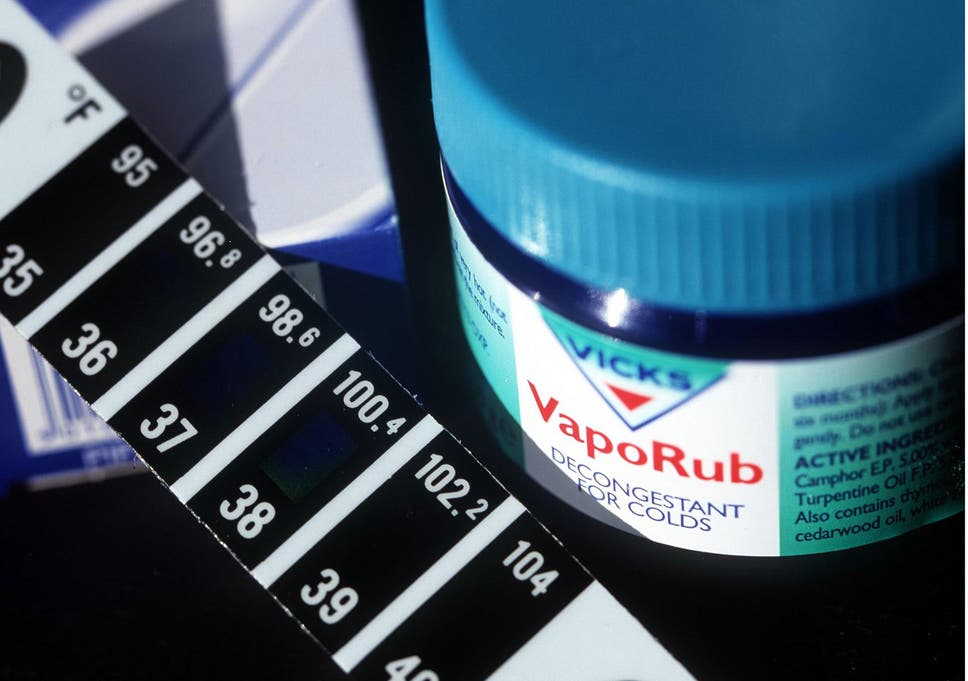 Does Vicks VapoRub stop coughs and colds when applied on your feet