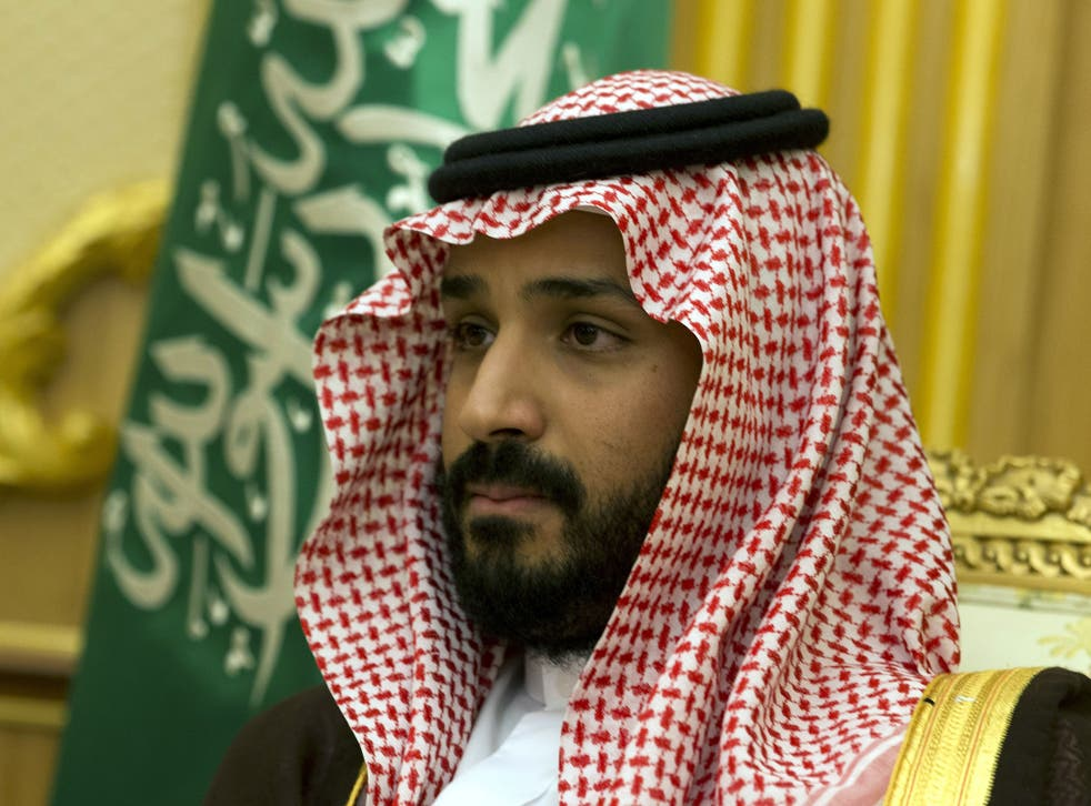 Prince Mohammed said there would be no war