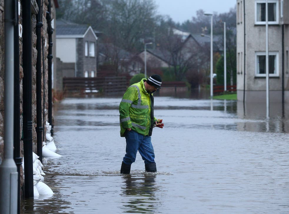 The Met Office said more rain could particularly affect areas where the ground is already waterlogged