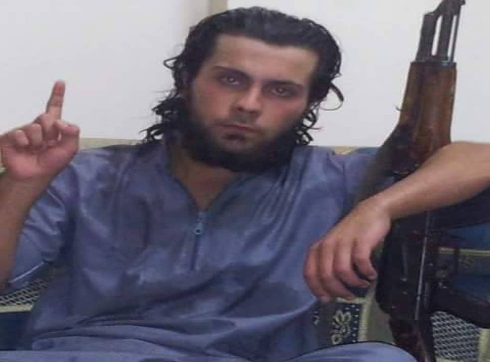 The activist group Raqqa is Being Slaughtered Silently said 20-year-old jihadi Ali Saqr al-Qasem (pictured) shot his mother Lena, 45, in the head with an assault rifle in front of a large crowd