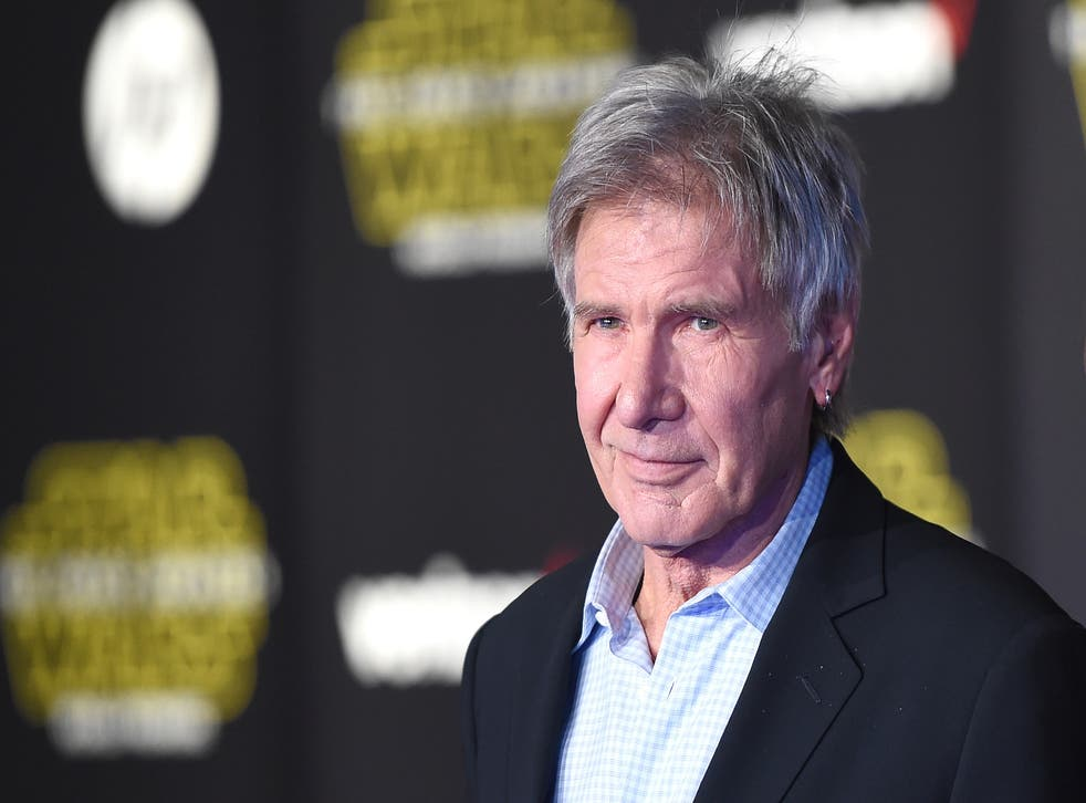Harrison Ford suffered a broken leg during an incident with a heavy hydraulic door while shooting Star Wars: The Force Awakens